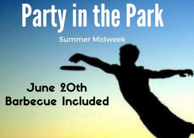 SUMMER MIDWEEK-PARTY IN THE PARK