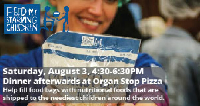SERVE AT FEED MY STARVING CHILDREN | DINNER AT ORGAN STOP