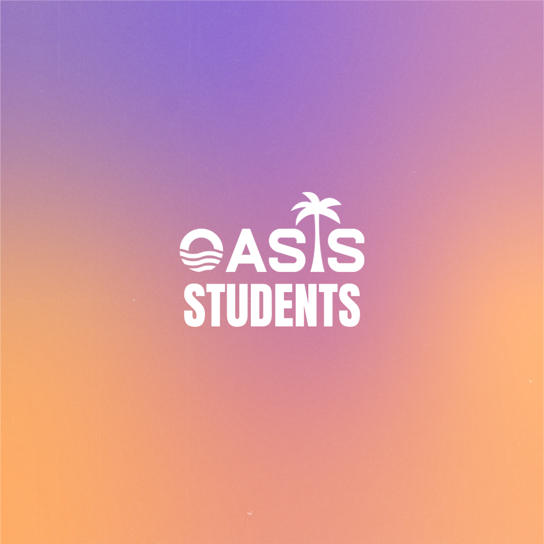 Oasis Student Wednesdays- Middle School
