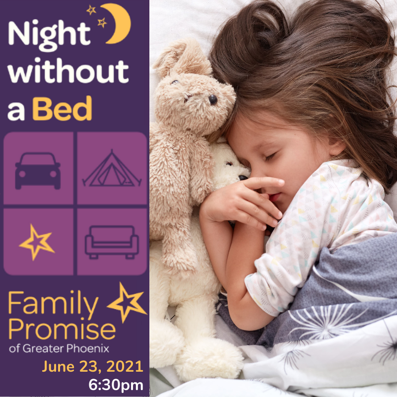 Family Promise 'Night Without a Bed' Virtual Fundraiser