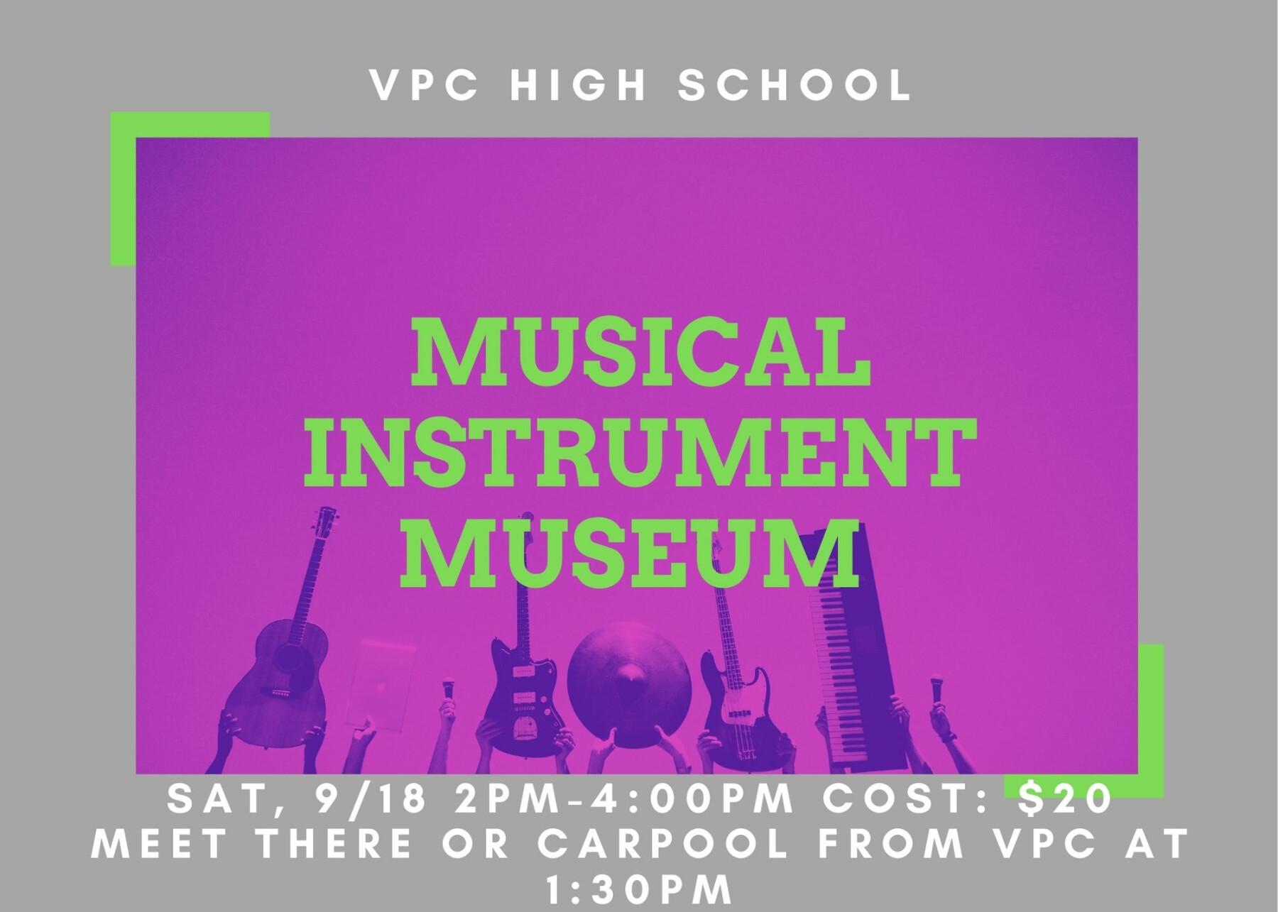 VPC High School: Musical Instrument Museum