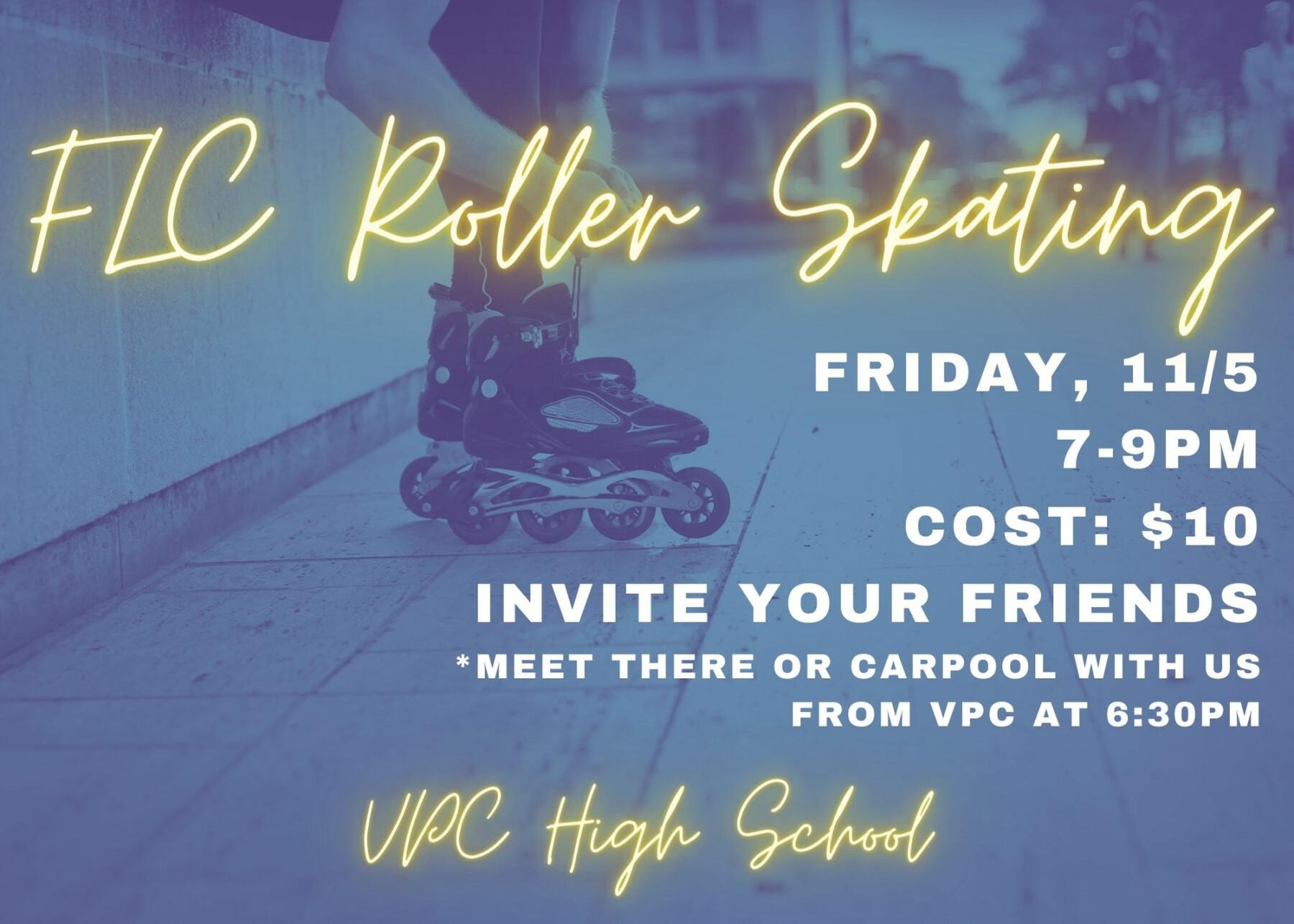 VPC High School: Roller Skating