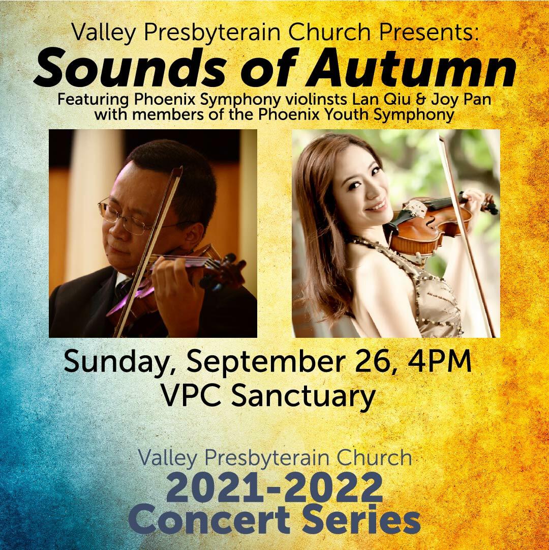 VPC Concert Series: Sounds of Autumn